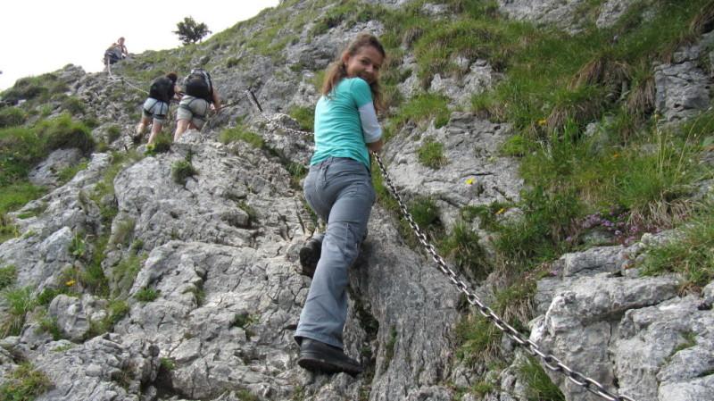 Klettersteig Am Ettaler Mandl : Marta und christian jirauschek laber m ettaler manndl